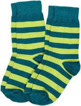 Sale! 30 % Maxomorra Socken 2er-Pack Grün/dunkel grün