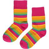 Sale! 30 % Maxomorra Socken 2er-Pack Cerise mix