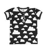 Färg & Form T-shirt Moln schwarz
