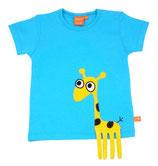 Lipfish T-Shirt Turquoise Giraffe Gr. 74/80