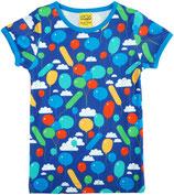 DUNS Kurzarm Shirt Balloons dunkelblau gr. 86
