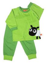 Lipfish Pyjamas Sheep green