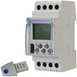 Schaltcomputer 2-Kanal Hager 16A,AC1 250V EG203 Tag/Woche
