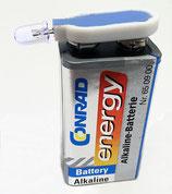 UV-Lampe inkl. 9V-Batterie
