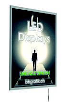 LED Leuchtrahmen 820 x 1120 mm - 26mm - Einseitig