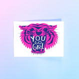 Studio Inktvis kaart You go girl