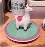 Sass & Belle Llama Trinklet Dish - theetipje