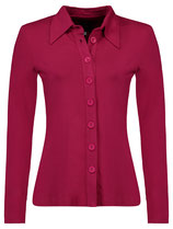 Tante Betsy Button Shirt Berry