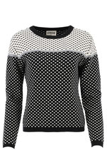 Circus Knitwear Trui Egrit/Black