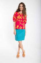 Danefae London Cord Skirt Rainblue