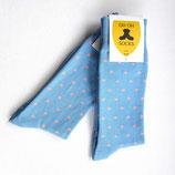 OhOh Socks Preppy Blue - maat 41-45