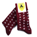 OhOh Socks Powerful Red - maat 41-45