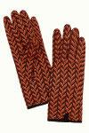 King Louie Glove Misletoe Windsor Red
