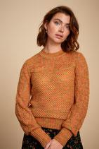 King Louie Jeanine Sweater Farfalle - Popsicle Orange