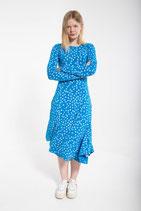 Danefae Sigrid Dress Bright Blue/Chalk FU
