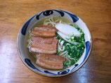 コザ耳そば+古本(三枚肉版)