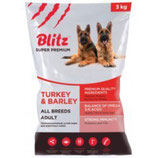 Blitz Adult Turkey & Barley All Breeds 3 кг