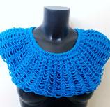 Luftiger Loop-Schal Kreativ blau