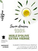 Savon 100% olive EXTRA VIERGE