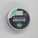 Dentifrice en poudre Menthe poivrée