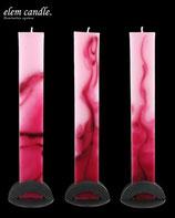 Stabkerze pink