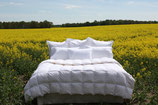 Übergroße Bettdecke