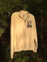 Bone 1/4 Zip Sweatshirt