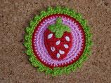 Button Erdbeere