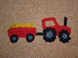 Applikation Traktor mit Hänger und Wunschladung