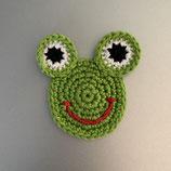 Applikation Frosch-Gesicht