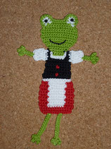 Applikation Dirndl-Frosch