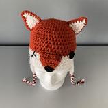 Häkelmütze Fuchs