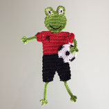 Applikation Fussball-Frosch
