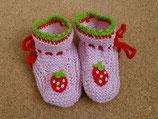 """Babyschuhe """"Erdbeere"""""""