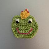 Applikation Gesicht Frosch-Prinzessin