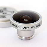 携帯型170°魚眼レンズKSW-3