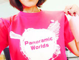 Panoramic Worlds Tシャツ