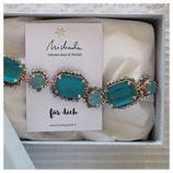 Armband - türkisblau