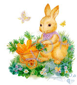 fluffy gardener