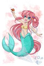 Mermaid Little Friends