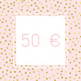 Geschenkgutschein - 50,00 €