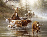 Mug Cows In the River