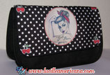 Trousse Pin Up Gang black