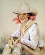 Mug Cowgirl Lady I