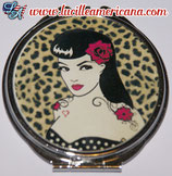 Miroir PIn Up Rose