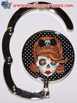 Accroche-sac Sugar Skull