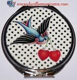 Miroir Swallow & Cherries
