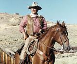 Mug John Wayne & horse