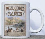 Mug Cowboy & saddle