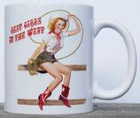 Mug Cowgirl Pinup